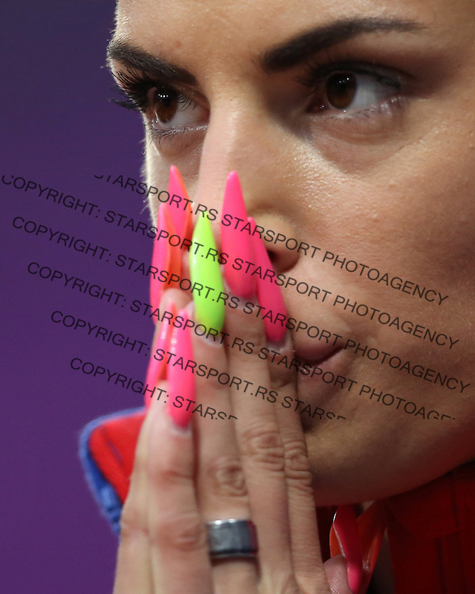 Atletika.Ivana Spanovic of Serbia competes in the Women's Long Jump Qualifications on Day 11 of the London 2012 Olympic Games at Olympic Stadium.Ivana Spanovic skok u dalj.London, 07.08.2012..foto: Srdjan Stevanovic/Starsportphoto ©