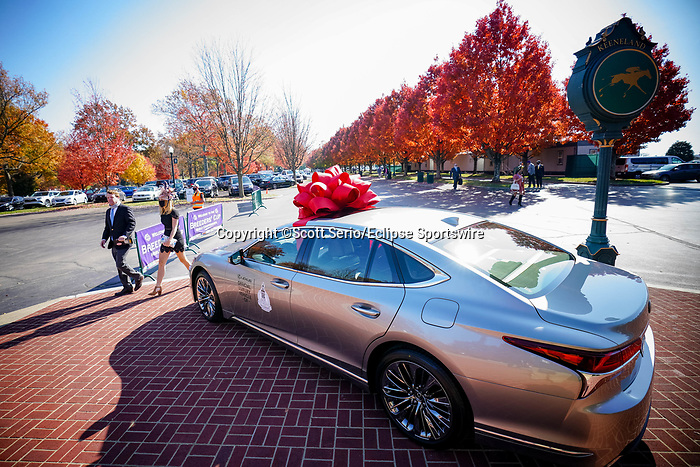 November 6, 2020: Lexus is the official luxury vehicle of the Breeder's Cup. Scott Serio/Eclipse Sportswire/Breeders Cup/CSM