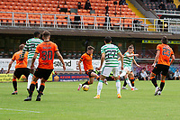 22nd August 2020; Tannadice Park, Dundee, Scotland; Scottish Premiership Football, Dundee United versus Celtic; Ryan Christie of Celtic fires in a shot on goal from the edge of the box