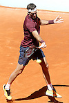 Juan Martin Del Potro, Argentina, during Madrid Open Tennis 2016 match.May, 3, 2016.(ALTERPHOTOS/Acero)
