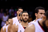 Syria's Sebouth Kharadjian,  FIBA World Cup Basketball Qualifier - NZ Tall Blacks v Syria at TSB Bank Arena, Wellington, New Zealand on Sunday 2 2018. <br /> Photo by Masanori Udagawa. <br /> www.photowellington.photoshelter.com