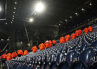 Stewards do final security checks of the The Hawthorns prior to kick off of the Premier League match between West Bromwich Albion and Swansea City at The Hawthorns, England, UK. Wednesday 14 December 2016