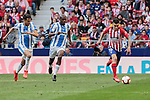 Atletico de Madrid's Angel Martin Correa and CD Leganes's Allan Romeo Nyom during La Liga match between Atletico de Madrid and CD Leganes at Wanda Metropolitano stadium in Madrid, Spain. March 09, 2019. (ALTERPHOTOS/A. Perez Meca)