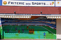 Europe/France/Nord-Pas-de-Calais/59/Nord/Flandre/Bray-Dunes: Friterie des sports ou le Nord, pays de la frite et du football