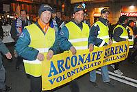 - Milan, demonstration of the parties of right for the security....- Milano, manifestazione dei partiti di destra per la sicurezza