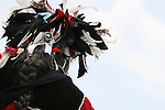 Many Native American dancers attend the 8th Annual Red Wing PowWow in Red Wing Park, Virginia Beach, Virginia.