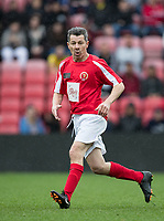 Derek Payne during the Sellebrity Soccer - Celebrity & legends football match with profits going to Watford Community sports & education trust at Vicarage Road, Watford, England on 12 May 2018. Photo by Andy Rowland.