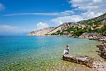 Croatia, Kvarner Gulf, Lukovo: a small fishing village at Velebitski Channel, an insiders' tip for a quiet, relaxing holiday at Kvarner Gulf | Kroatien, Kvarner Bucht, Lukovo: vom Tourismus noch fast unberuehrt liegt dieses kleine Fischerdorf am Velebit-Kanal und ist noch ein echter Geheimtipp fuer einen ruhigen, entspannten Urlaub in der Kvarner Bucht