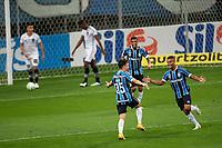 14th October 2020; Arena de Gremio, Porto Alegre, Brazil; Brazilian Serie A, Gremio versus Botafogo; Pepe of Gremio celebrates his second goal in the 66th minute 3-1