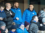Rangers v St Johnstone…16.12.17…  Ibrox…  SPFL<br />Michael O'Halloran watches from the stands<br />Picture by Graeme Hart. <br />Copyright Perthshire Picture Agency<br />Tel: 01738 623350  Mobile: 07990 594431