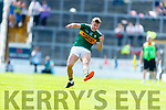 James O'Donoghue Kerry in action against  Clare during the Munster GAA Football Senior Championship semi-final match between Kerry and Clare at Fitzgerald Stadium in Killarney on Sunday.