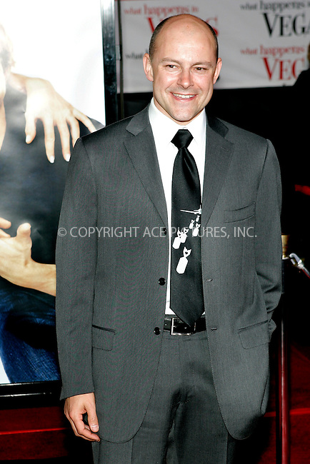WWW.ACEPIXS.COM . . . . .....May 1, 2008. Los Angeles, CA.....Actor Rob Corddry attends the 'What Happens in Vegas' premiere at the Mann Village Theatre...  ....Please byline: Joe West - ACEPIXS.COM..... *** ***..Ace Pictures, Inc:  ..Philip Vaughan (646) 769 0430..e-mail: info@acepixs.com..web: http://www.acepixs.com