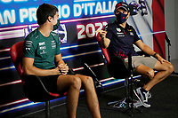 9th September 2021; Nationale di Monza, Monza, Italy; FIA Formula 1 Grand Prix of Italy, Driver arrival and inspection day:  Lance Stroll CAN, Aston Martin Cognizant F1 Team
