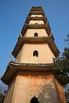 West Pagoda, Jiangxin Island, Wenzhou (Wenchow).