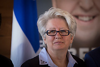 PQ MNA for the riding of Taschereau Agnes Maltais is pictured during the presentation of parti Quebecois candidates for the upcoming byelection Tuesday May 5, 2015.<br /> <br /> PHOTO :  Francis Vachon - Agence Quebec Presse