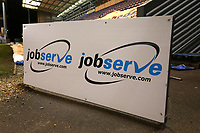 JobServe signage during Colchester United vs Exeter City, Sky Bet EFL League 2 Football at the JobServe Community Stadium on 23rd February 2021