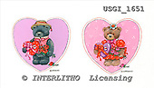 GIORDANO, CUTE ANIMALS, LUSTIGE TIERE, ANIMALITOS DIVERTIDOS, Teddies, paintings+++++,USGI1651,#AC# teddy bears