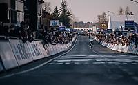 Michael Valgren (DEN/Astana) wins the 2018 Omloop Het Nieuwsblad<br /> <br /> Gent › Meerbeke: 196km (BELGIUM)