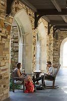 Rhodes College, Memphis, TN Barrett Library, cloister