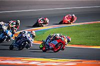 VALENCIA, SPAIN - NOVEMBER 8: Darryn Binder during Valencia MotoGP 2015 at Ricardo Tormo Circuit on November 8, 2015 in Valencia, Spain