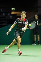 Rotterdam, The Netherlands, Februari 9, 2016,  ABNAMROWTT, Martin Klizan (SVK)<br /> Photo: Tennisimages/Henk Koster