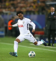 21.11.2017, Football UEFA Champions League 2017/2018,  , 5. match day, Borussia Dortmund - Tottenham Hotspur, Signal-Iduna-Park Dortmund. Danny Rose (Tottenham Hotspur)  *** Local Caption *** © pixathlon<br /> <br /> +++ NED + SUI out !!! +++<br /> Contact: +49-40-22 63 02 60 , info@pixathlon.de