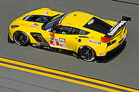 22-25 January, 2015, Daytona Beach, Florida USA<br /> 4, Chevrolet, Corvette C7.R, GTLM, Oliver Gavin, Tommy Milner, Simon Pagenaud<br /> ©2015, F. Peirce Williams