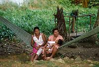 - indigenous village of Rama Key on the Atlantic coast ....- villaggio indigeno di Rama Key sulla costa atlantica