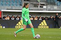 Torfrau Lydia Williams (Australien, Australia) - 10.04.2021 Wiesbaden: Deutschland vs. Australien, BRITA Arena, Frauen, Freundschaftsspiel