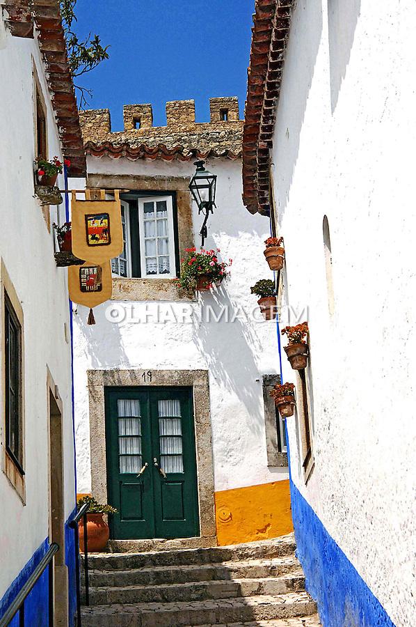 Cidade de Óbidos, Extremadura. Portugal. 2005. Foto de Rogério Reis.