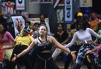 INDIA,Chennai Madras, Mallywood the tamil film industry, film shooting with actress Mumtaj in AVM studios / INDIEN, Chennai frueher Madras, Filmset mit Schauspielerin Mumtaj im AVM Filmstudio, die Filmindustrie in Tamil Nadu wird auch Mallywood genannt