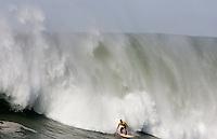 Ryan Seelbach. Mavericks Surf Contest in Half Moon Bay, California on February 13th, 2010.