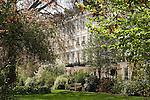 Chester Square, private gardens.  Belgravia, City of Westminster, London SW1 England. 2006