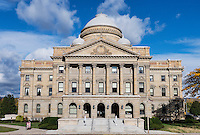 Luzurne County Courthouse, Wilkes-Barre, Pennsylvania, USA