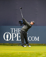 170719 | The 148th Open - Wednesday Practice<br /> <br /> Brian Harmon of USA on the 1st during practice for the 148th Open Championship at Royal Portrush Golf Club, County Antrim, Northern Ireland. Photo by John Dickson - DICKSONDIGITAL