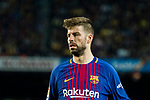 Gerard Pique Bernabeu of FC Barcelona looks on during the La Liga 2017-18 match between FC Barcelona and Real Madrid at Camp Nou on May 06 2018 in Barcelona, Spain. Photo by Vicens Gimenez / Power Sport Images