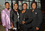 Belinda Johnson, Bobbie Young, Angelanet Allen (cq) and Sheila Carr at the Ensemble Theatre Gala at the Hilton Americas Hotel Friday Aug. 15,2008. (Dave Rossman/For the Chronicle)