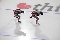 SCHAATSEN: HEERENVEEN: 13-01-2021, IJsstadion Thialf, Speed Skating training, Team Canada, Ted Jan Bloemen, ©Photo Martin de Jong