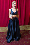 © Licensed to London News Pictures . 16/05/2015 .  The Palace Hotel , Manchester , UK . AMANDA CLAPHAM . The red carpet at the 2015 British Soap Awards , The Palace Hotel , Oxford Road , Manchester . Photo credit : Joel Goodman/LNP