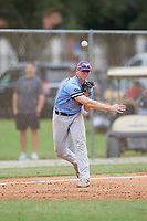Jack Costello (13) during the WWBA World Championship at the Roger Dean Complex on October 12, 2019 in Jupiter, Florida.  Jack Costello attends Chaminade College Preparatory High School in Simi Valley, CA and is committed to San Diego.  (Mike Janes/Four Seam Images)