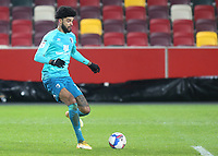 Philip Billing of AFC Bournemouth in action during Brentford vs AFC Bournemouth, Sky Bet EFL Championship Football at the Brentford Community Stadium on 30th December 2020