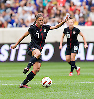 Shannon Boxx. The USWNT defeated Mexico, 1-0, during the game at Red Bull Arena in Harrison, NJ.