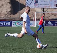Eriq Zavaleta kicks the ball. The Under-17 US Men's National Team defeated Cuba 5-0 at the 2009 CONCACAF Under-17 Championship April 21, 2009 in Tijuana, Mexico.