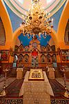 Judea, intarior of the Russian Orthodox Church in Hebron