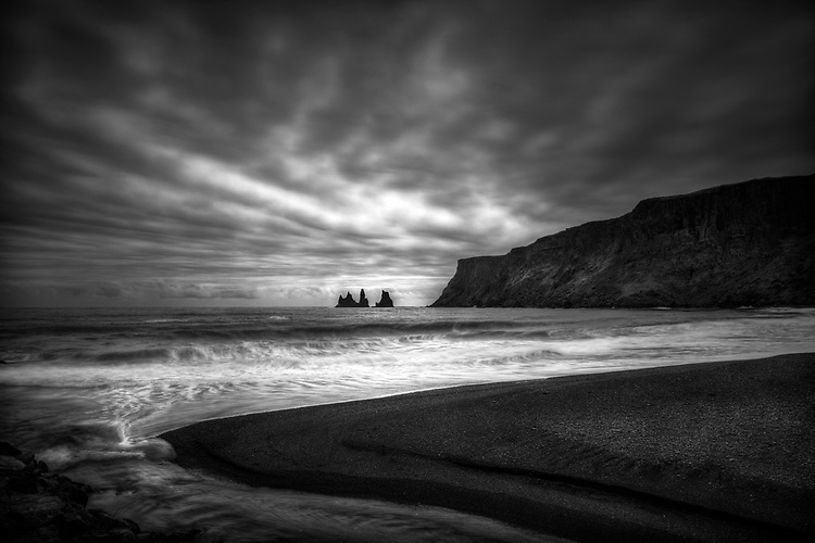 Iceland Black and White Photography by Gary Wagner