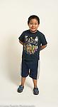 Portrait of 8 year old boy
