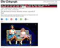 The Merchant of Venice, Almeida Theatre, Daily Telegraph 16.12.14