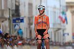 2021 UEC Road Cycling European Championships. Trento, Italy on September 11, 2021. Elite Women Road Race,  Ellen VAN DIJK (NED)