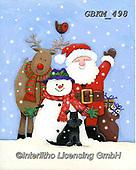 Kate, CHRISTMAS SANTA, SNOWMAN, WEIHNACHTSMÄNNER, SCHNEEMÄNNER, PAPÁ NOEL, MUÑECOS DE NIEVE, paintings+++++Christmas page 2 2,GBKM498,#x#