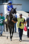June 26,, 2021: #4 Glacial in the Bashford Manor at Churchill Downs.  Louisville, KY on June 26, 2021.  Candice Chavez/ESW/CSM